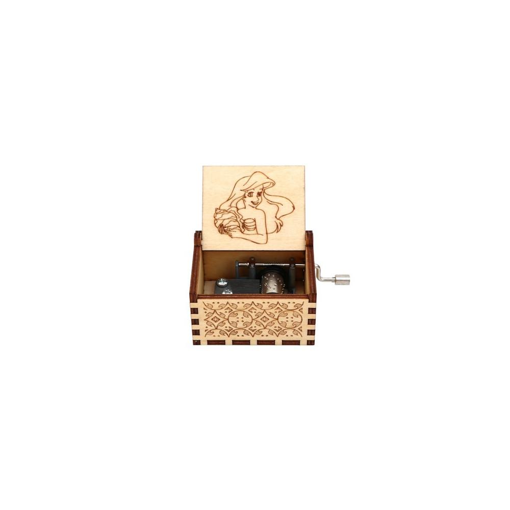 Hrací skříňka - Malá mořská víla