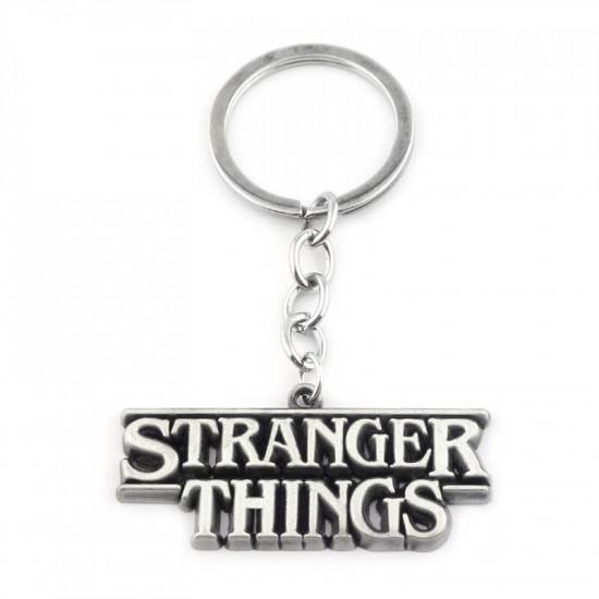 Klíčenka - Stranger Things ( stříbrná )