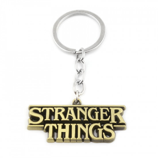 Klíčenka - Stranger Things ( zlatá)