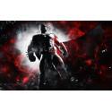 Peněženka - Batman (červená)