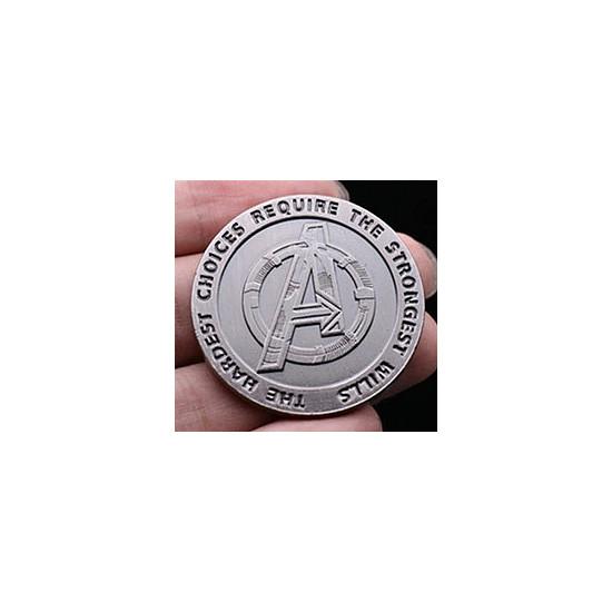 Mince - Avengers (stříbrná)