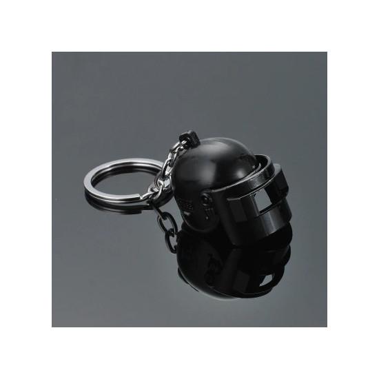 Klíčenka - PUBG helma (černá)