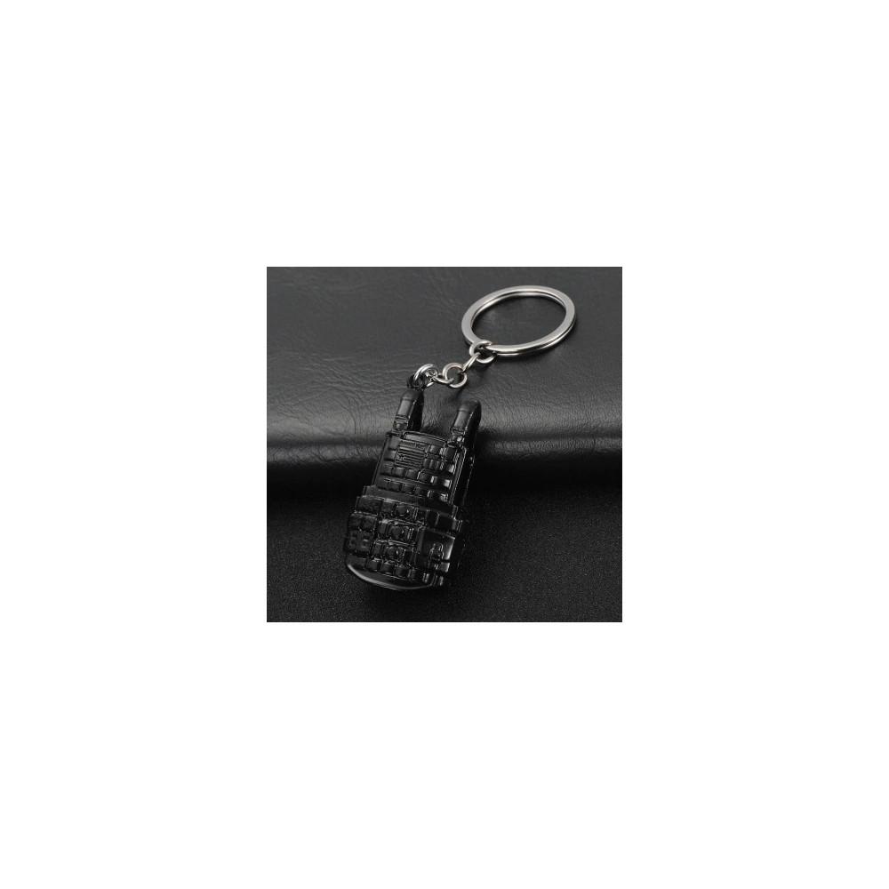 Klíčenka - PUBG štít (černá)