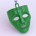 Klíčenka - Maska (zelená)
