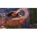 Náhrdelník Odvážná Vaiana (Moana) - Mauiův hák (zlatý)