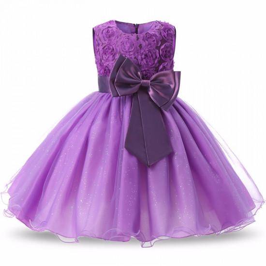 Šaty pro princeznu (fialové)