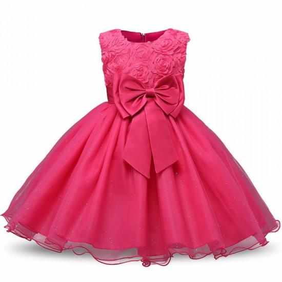 Šaty pro princeznu (tmavě růžové)