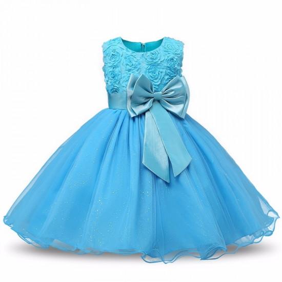 Šaty pro princeznu (modré)