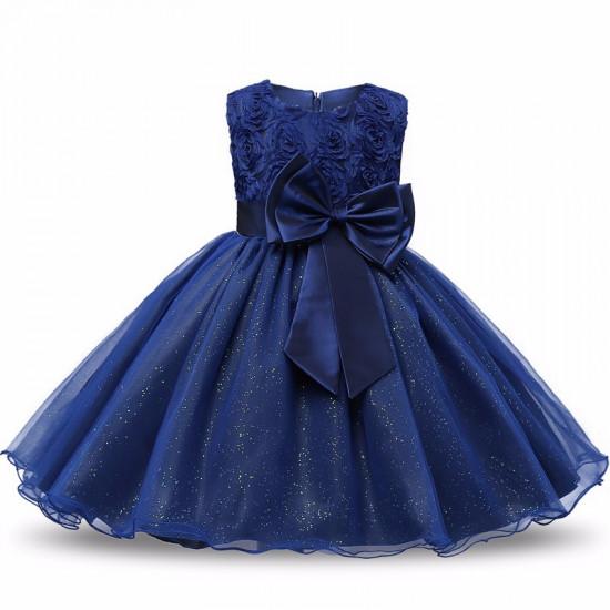 Šaty pro princeznu (tmavě modré)