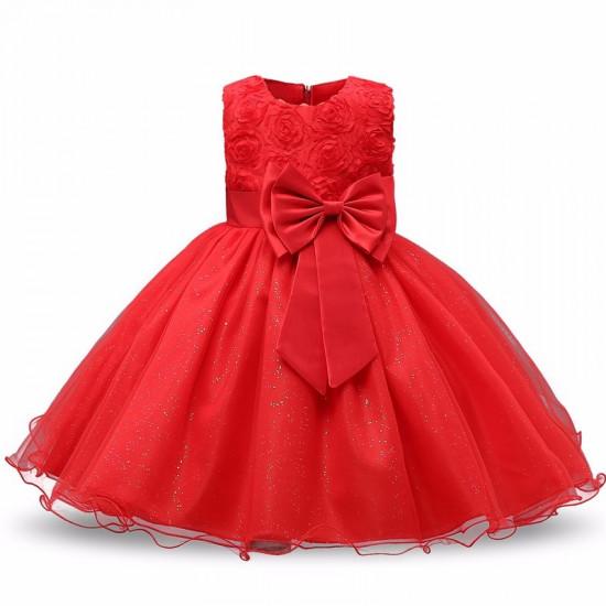 Šaty pro princeznu (červené)
