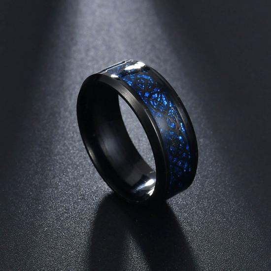 Prsten - Dračí kámen (tmavě modrý)