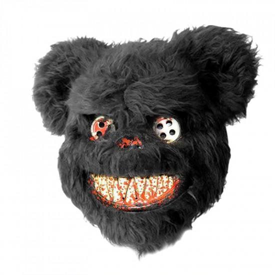 Maska - Strašidelný černý medvěd