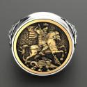 Prsten Svatý Jiří - Boj s drakem