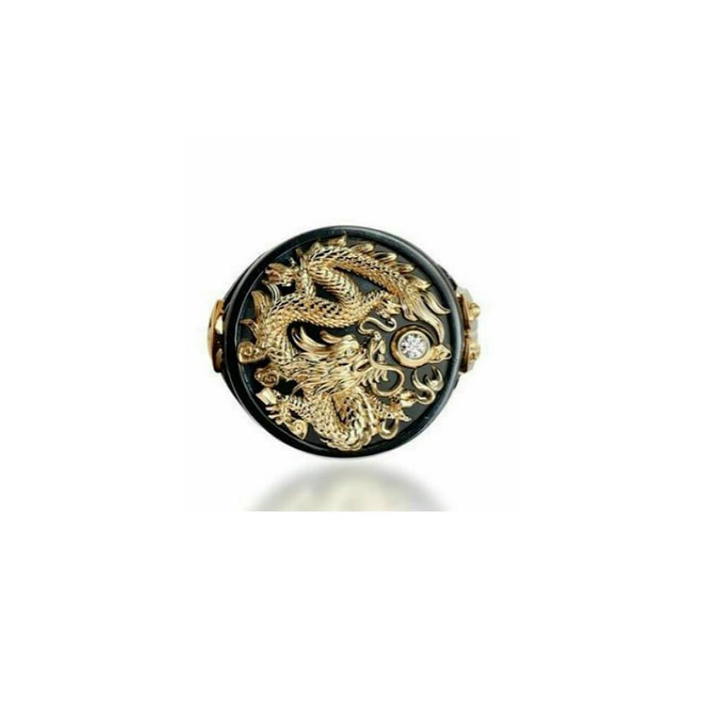 Prsten Čínský drak