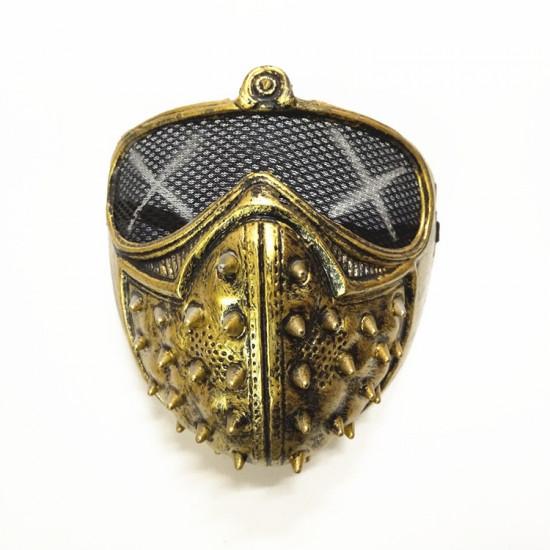 Maska - Watch Dogs 2 (zlatá)