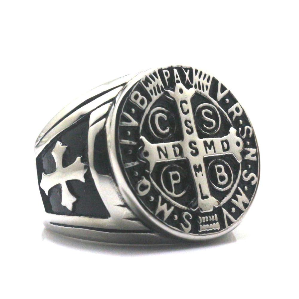 Prsten Království nebeské (chirurgická ocel)