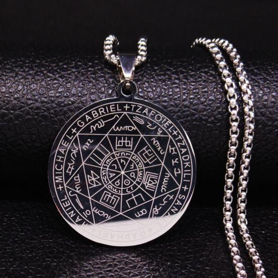 Čarodějnictví - pentagram (chirurgická ocel)