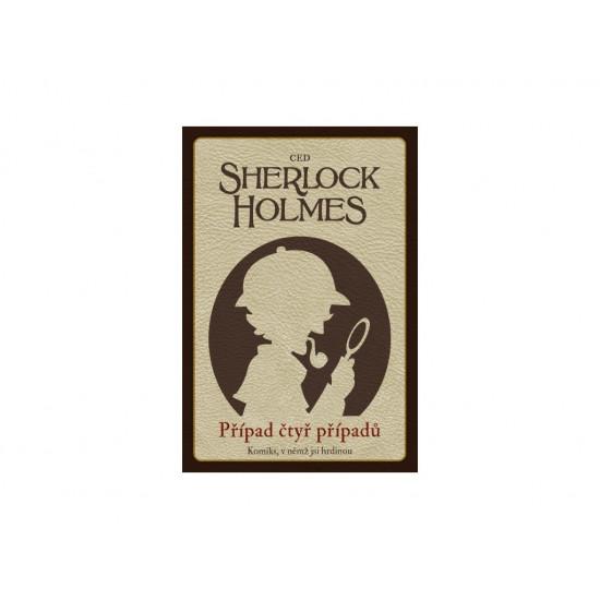 Desková hra Komiks, v němž jsi hrdinou - Sherlock Holmes: Případ čtyř případů